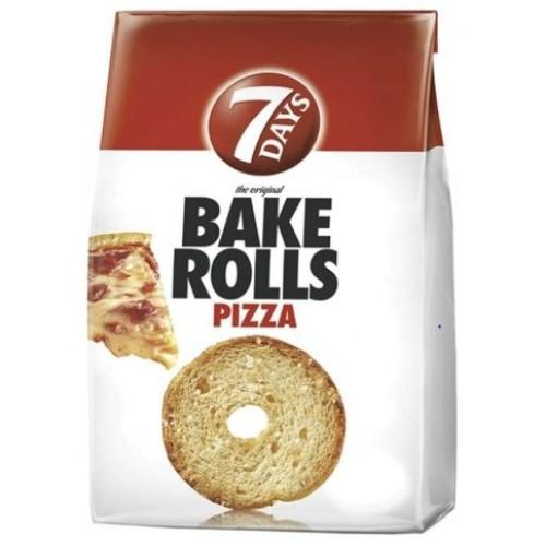 7 Days Bakerolls Pizza 80g *12