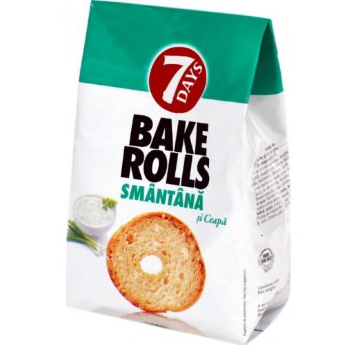 7 Days Bakerolls Smant&Ceapa 80g *12