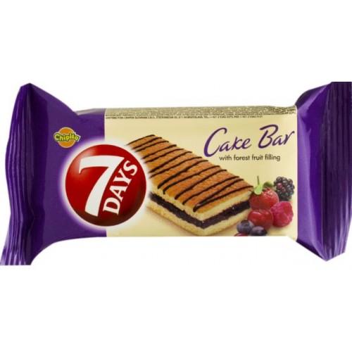 7 Days Cakebar FructePadure 30g *16/displ