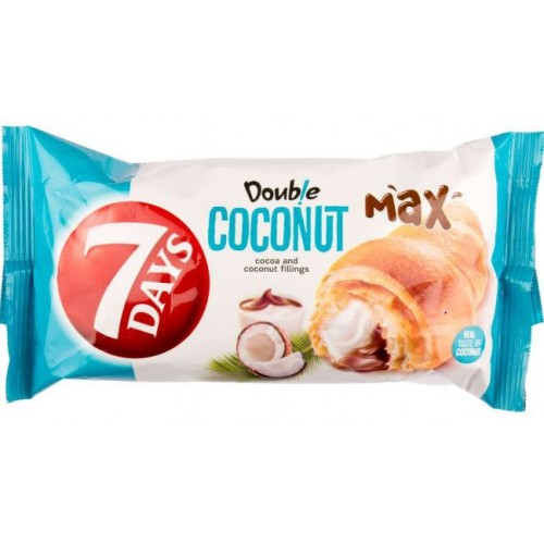 7 Days Double Cacao-Cocos 80g * 20