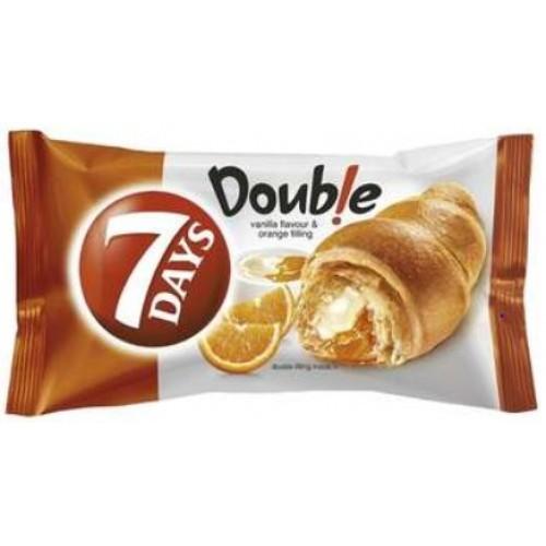 7 Days Double Vanilie Portocale 80g *20