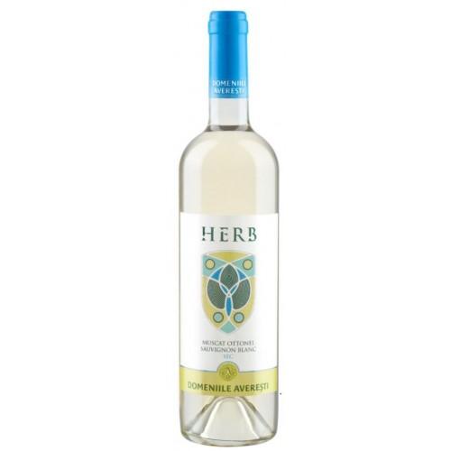 Domeniile Averesti Herb Muscat Ottonel & Sauvignon Blanc DOC alb sec 13.6% 750 ml *6