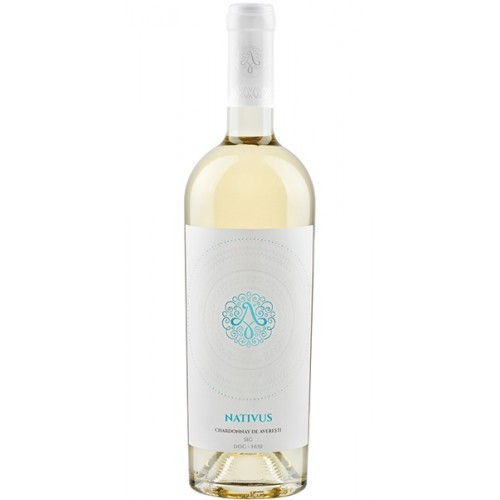 Domeniile Averesti Nativus Chardonnay, DOC, alb sec 13% 750 ml *6
