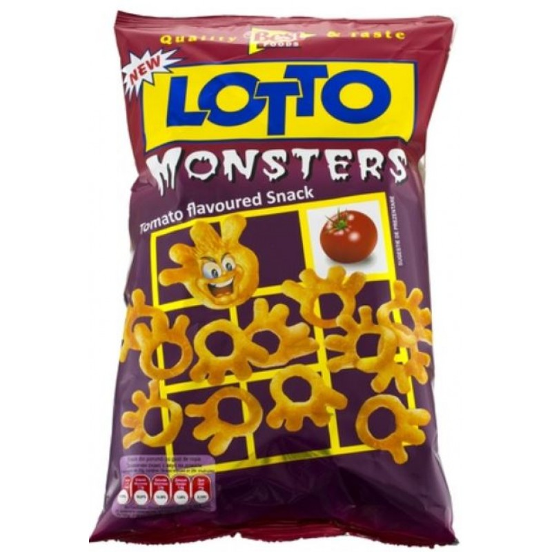 Lotto Snack Monsters 75g *20