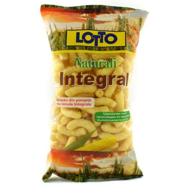 Lotto Snack Naturali Integral 67g *20