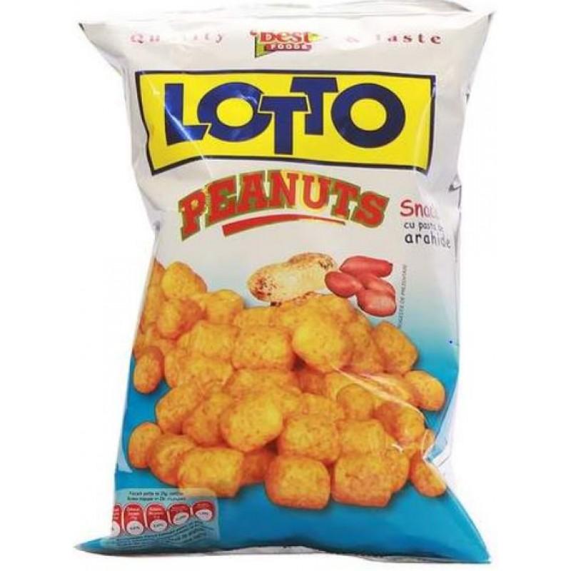 Lotto Snack Peanuts 90g *20