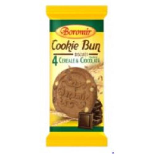 Boromir Biscuiti cu cereale si bucati de ciocolata 40g *21