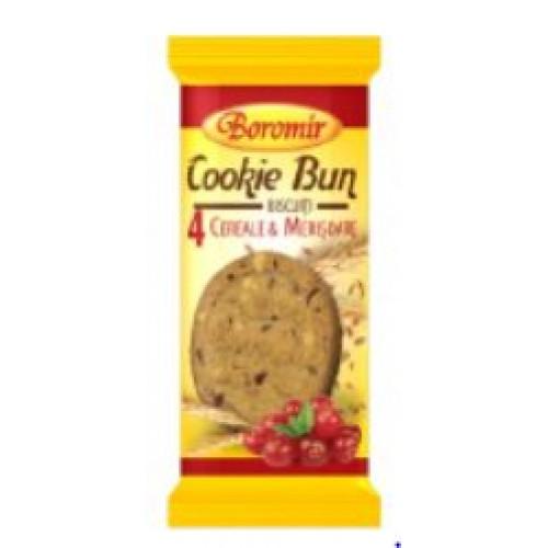 Boromir Biscuiti cu cereale si merisoare 40g *21