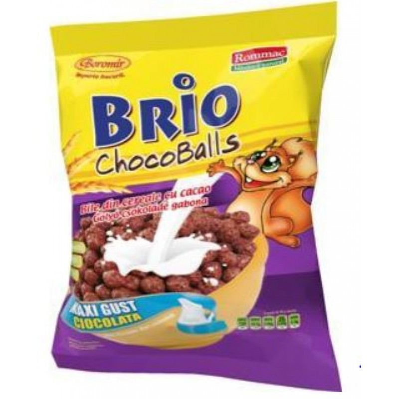 Rommac Cereale Brio Chocoballs 250gr *10
