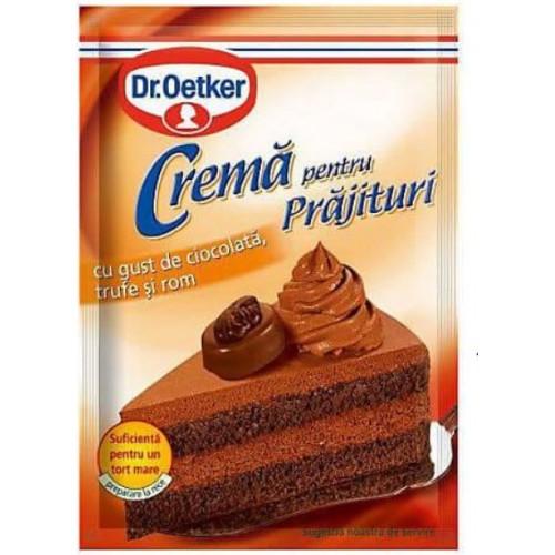 Dr. Oetker Crema cu Ciocolata,Trufe si Rom 57g *25