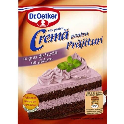 Dr. Oetker Crema Fructe Padure 50g *25