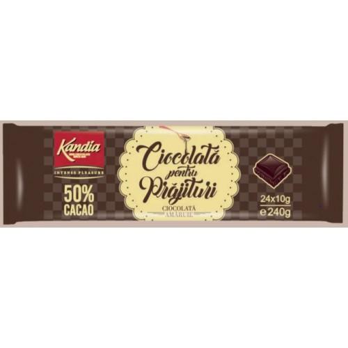 Kandia Ciocolata Prajituri 50% 240g *13