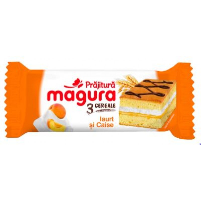 Magura 3 Cereale, Cr Iaurt&Caise 30g *24