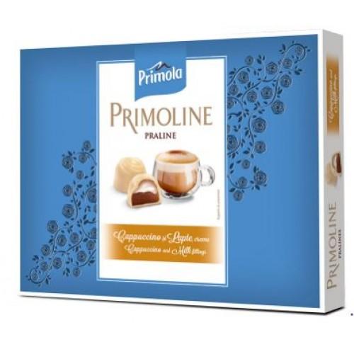 Primoline Praline Ciocolata Alba Cappuccino 105g*14