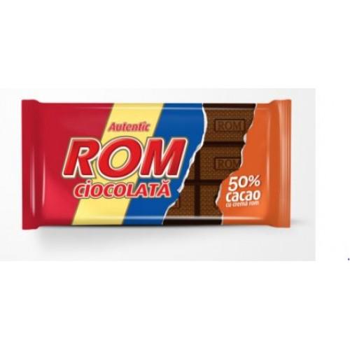 Rom Ciocolata 50% Cr Rom 88g *24