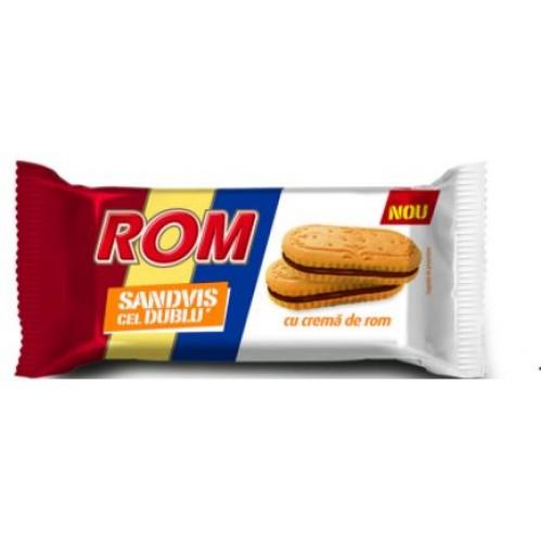 Rom Biscuiti Cel Dublu 48g *25
