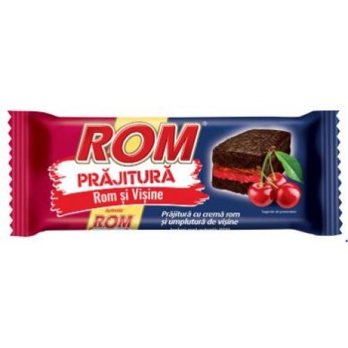 Rom Prajitura Crema Rom Si Visine 35g *24