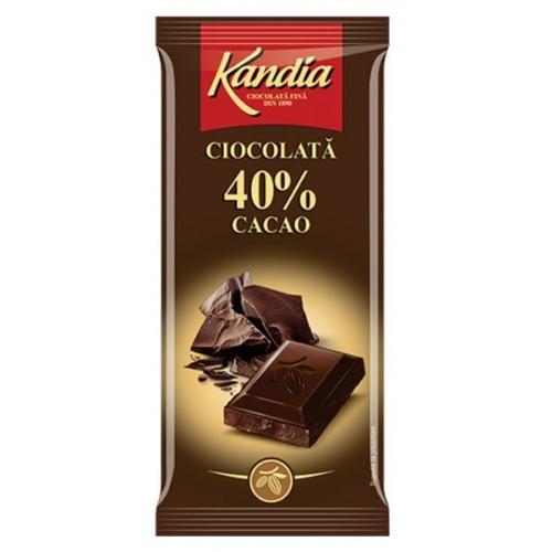 Kandia Ciocolata Dark 40%  80g *24