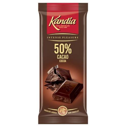 Kandia Ciocolata Dark 50% 80g *24