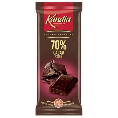 Kandia Ciocolata Dark 70%  80g *24