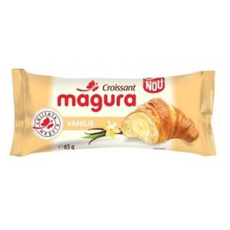 Magura Croissant Vanilie 65g *30
