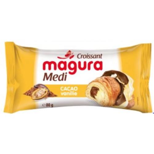Magura Croissant Cacao Vanilie Eto 65g *30