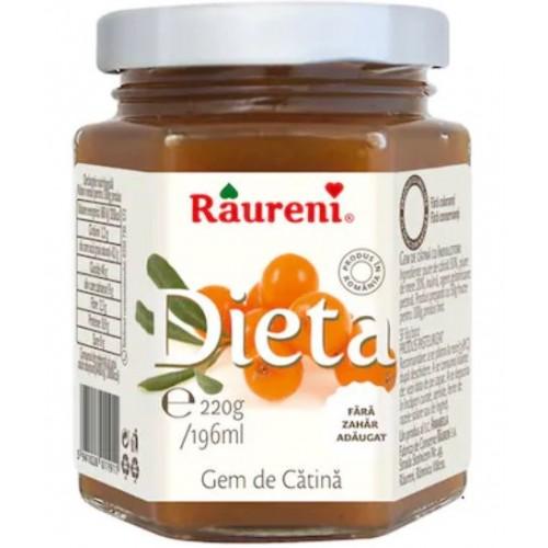 Raureni  Gem dietetic de catina 220g *6
