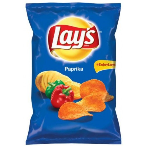 Lay's Chips cu Paprica 140g *21