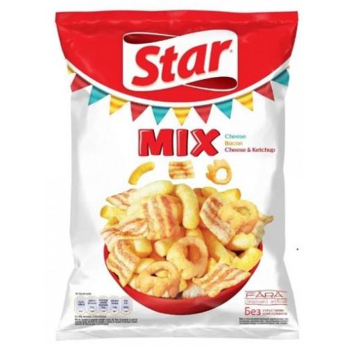 Star Foods Snack mix rosu 90g *20