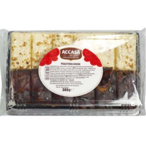 Accasa Prajitura cu cacao si crema cu gust de vanilie ( Prajitura Acasa) 300g *8