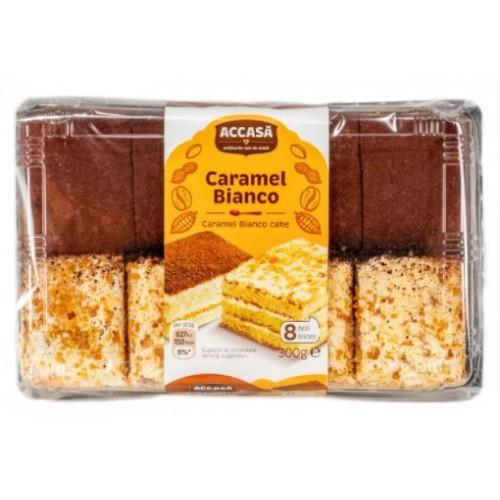 Accasa Prajitura Caramel Bianco 300g *8