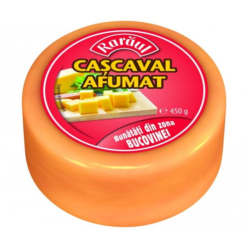 Raraul Cascaval Afumat 450g / Folie (Rotund) *6