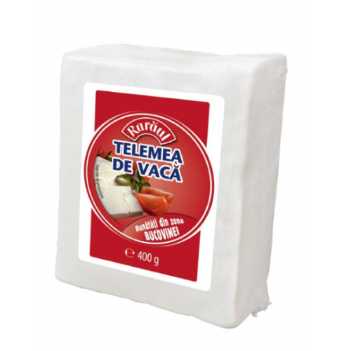Raraul Telemea De Vaca 400g / Folie *5