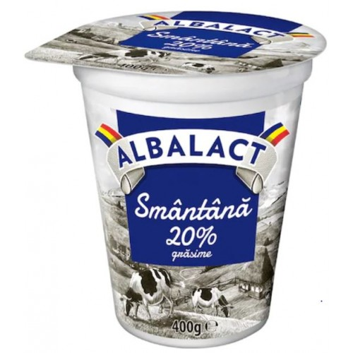 Albalact Smantana 20% 400g *12