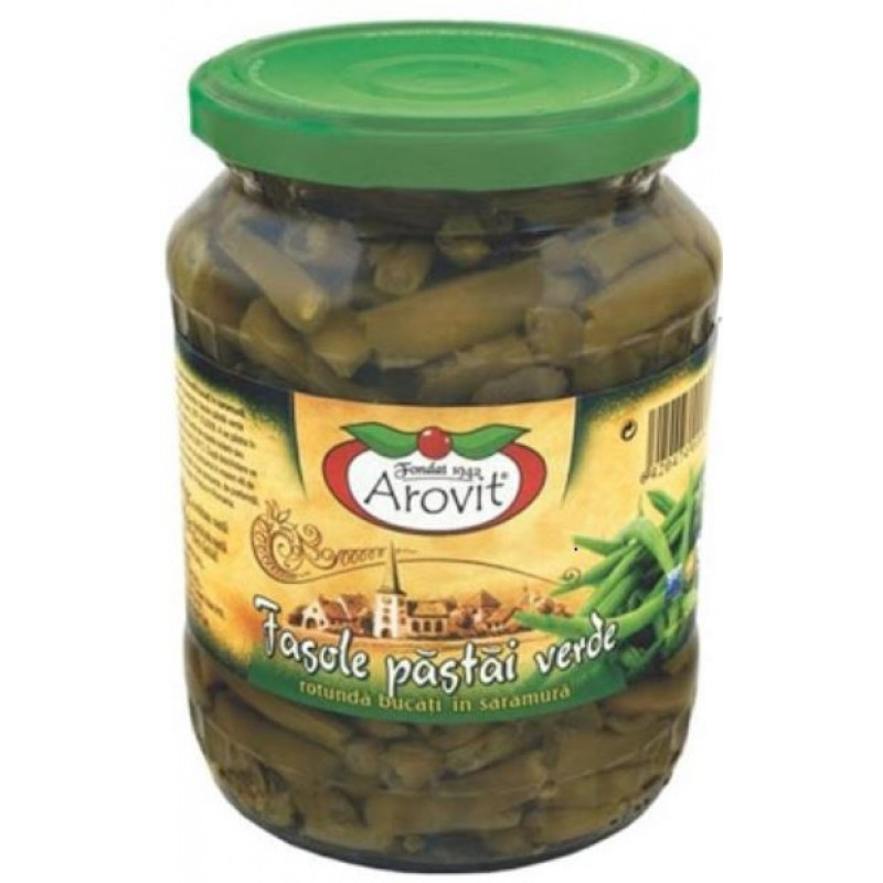 Arovit Fasole pastai verde 680 g *6
