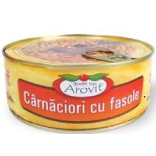 Arovit Carnaciori cu fasole 300 g *6
