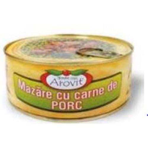 Arovit Mazare cu carne de porc 300 g *6