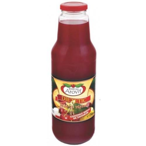 Arovit Nectar de mar cu visine dietetic 750 ml *6