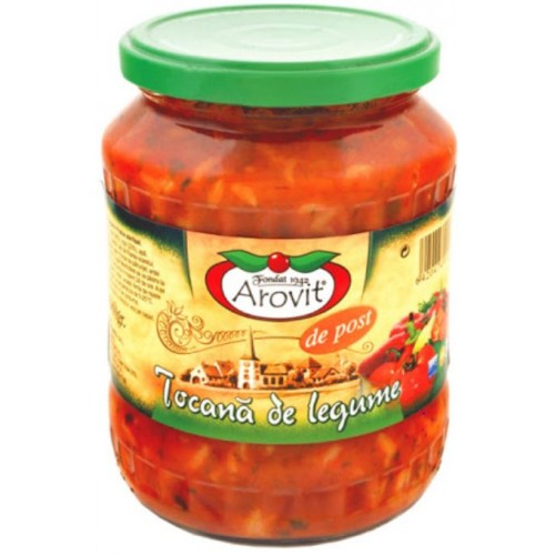 Arovit Tocana de legume 680 g *6
