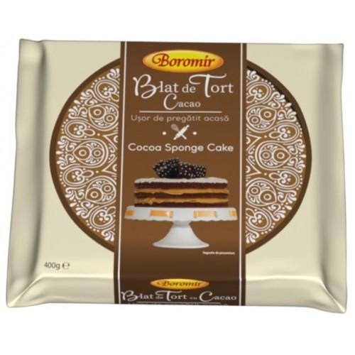 Boromir Blat de tort cu cacao  400 g *6
