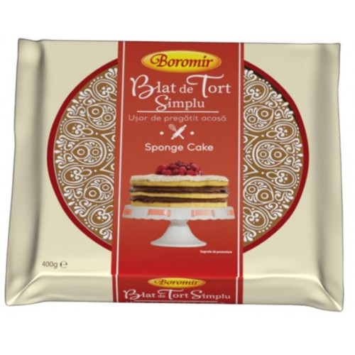 Boromir Blat de tort simplu  400 g *6
