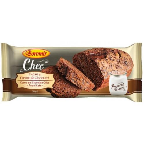 Boromir Chec Cacao și Cipsuri de Ciocolata 300g *10