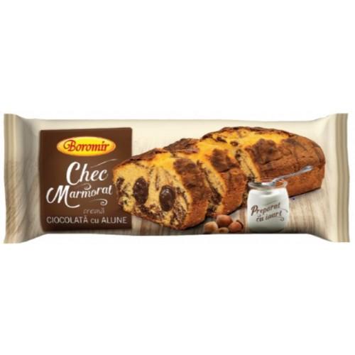 Boromir Chec  Marmorat Crema Ciocolata cu Alune 450g *8
