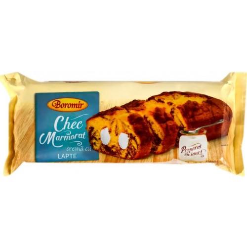 Boromir Chec  Marmorat Crema cu Lapte 450g *8