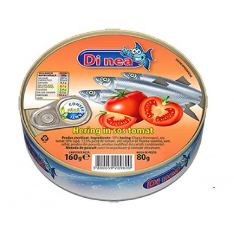 DI NEA Hering in sos tomat 160g EO *30