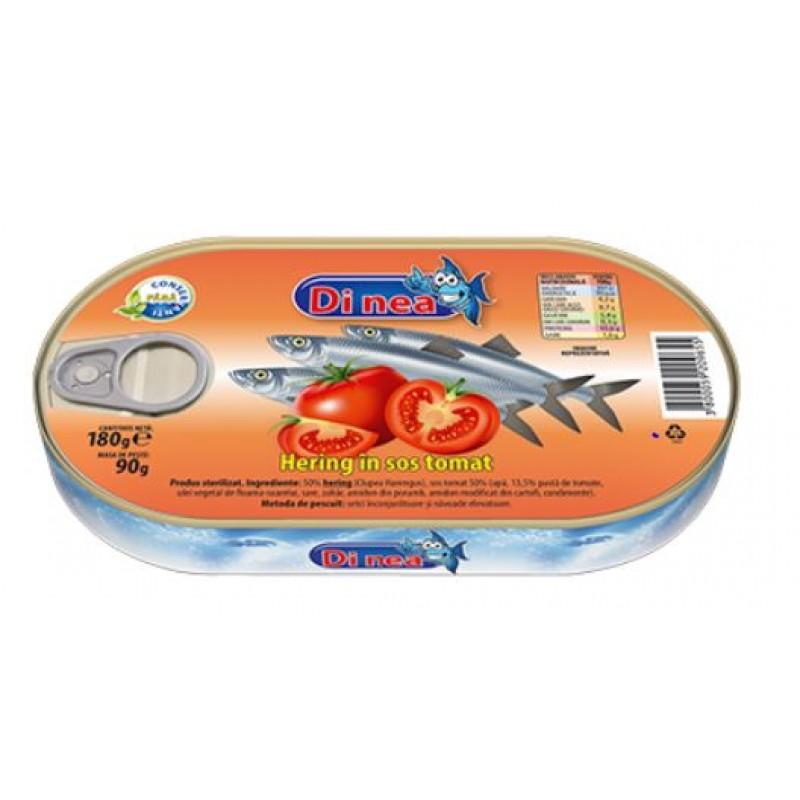 DI NEA Hering in sos tomat 180g EO *30