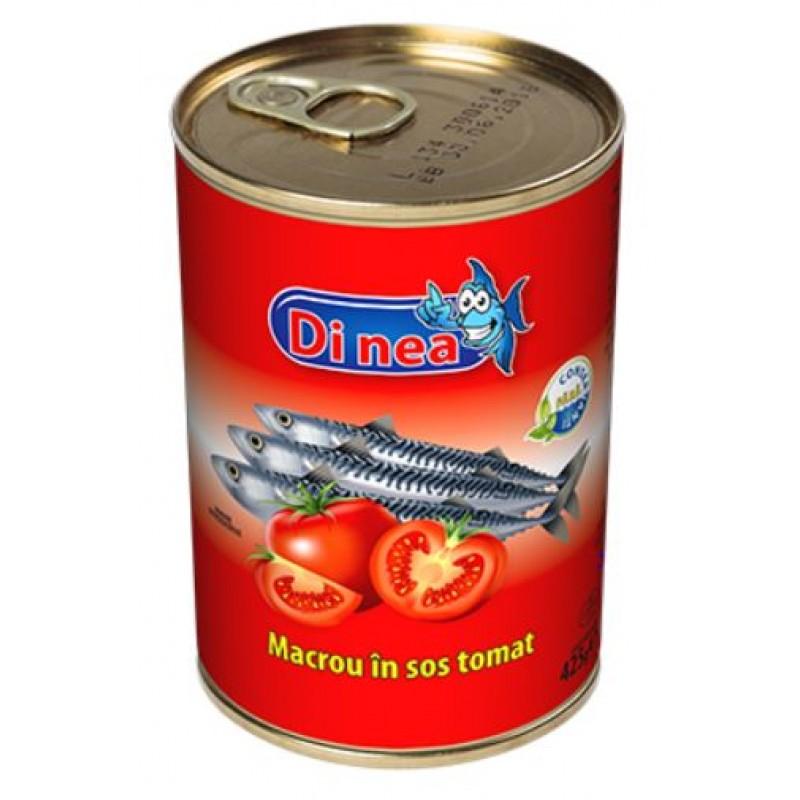 DI NEA Macrou in sos tomat 425g EO *24
