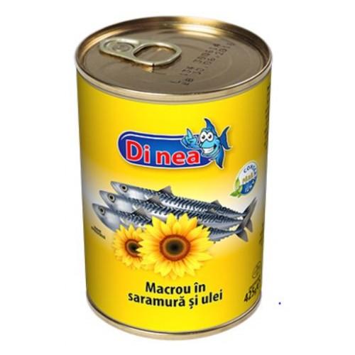 DI NEA Macrou in ulei de floarea soarelui 425g EO *24