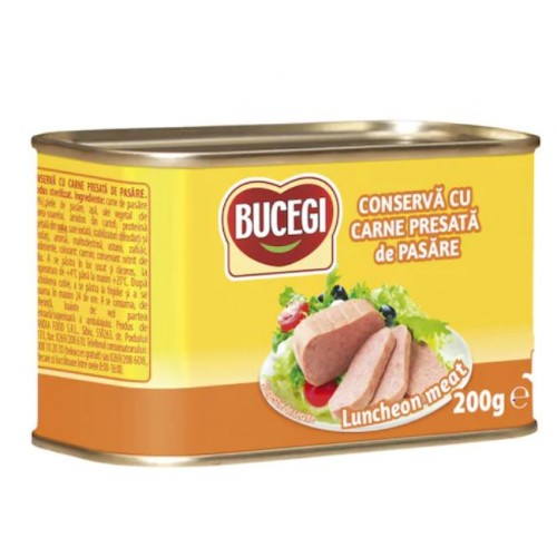 Bucegi Luncheon meat pasare 200g RT *6