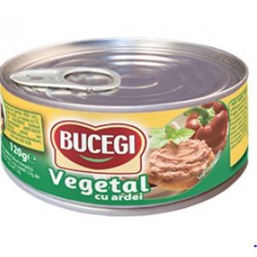 Bucegi Pasta vegetala tartinabila cu ardei 120g EO *60
